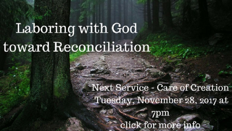Laboring with God toward Reconciliation2