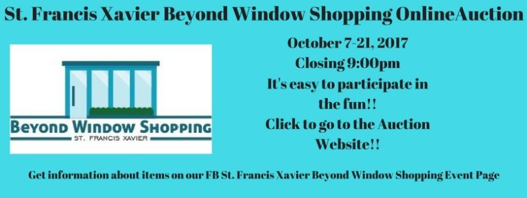 St. Francis Xavier Beyond Window Shopping Online Auction Website