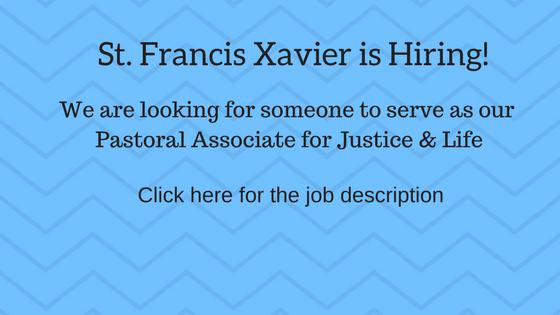 Jesuit, Catholic, Hiring, Parish