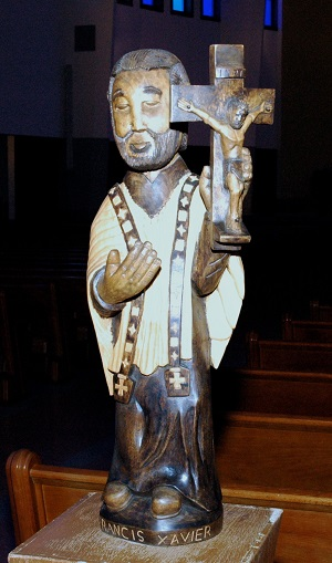 St Francis Xavier Wooden Statue St Francis Xavier Catholic Church